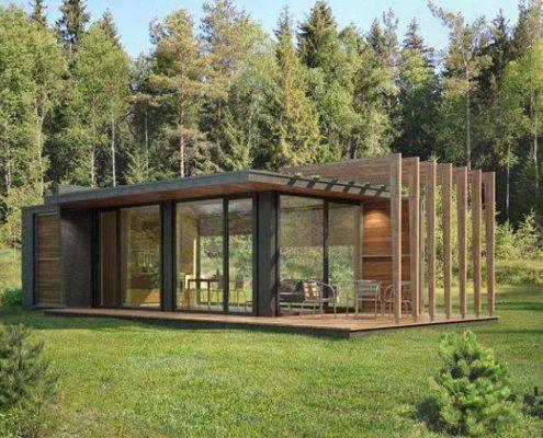 Строительство каркасных домов СПб