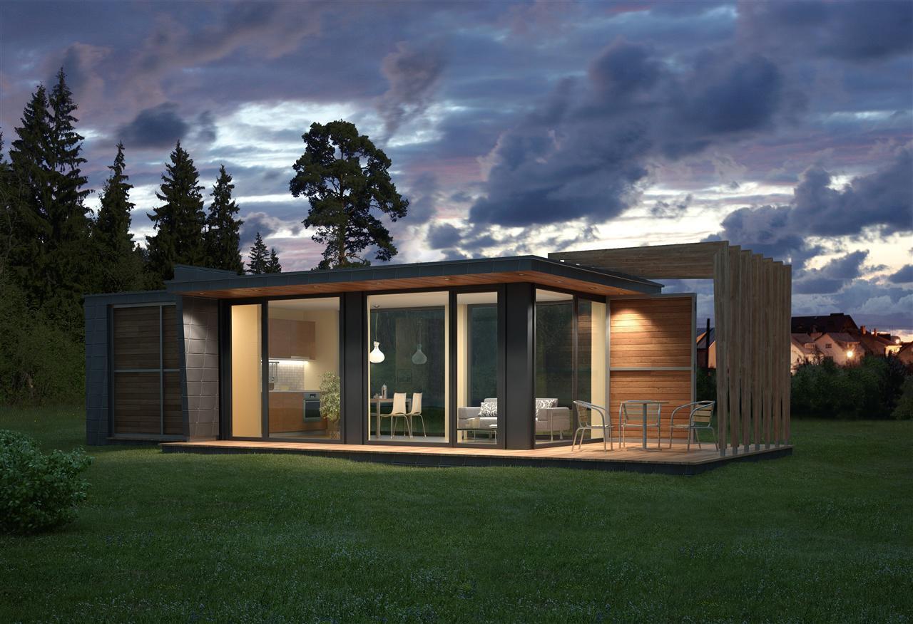 Построить каркасный дом по проекту Парус