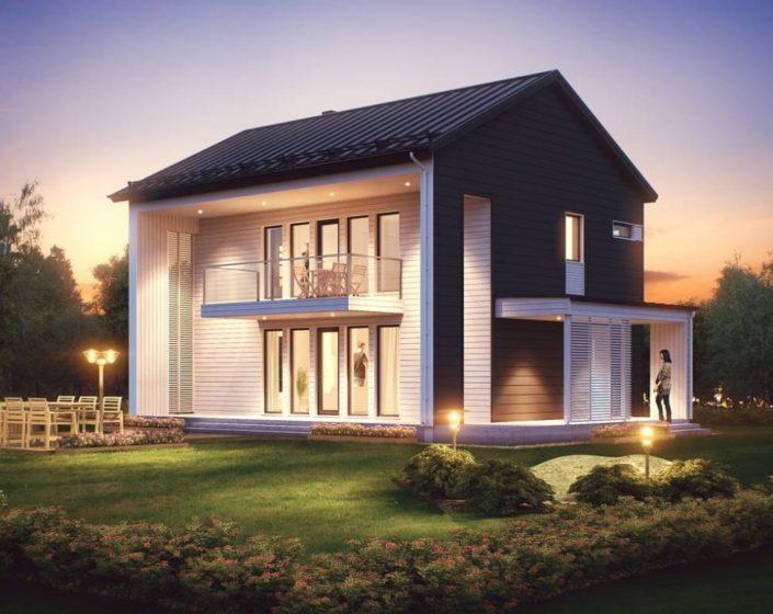 Построить каркасный дом в СПб