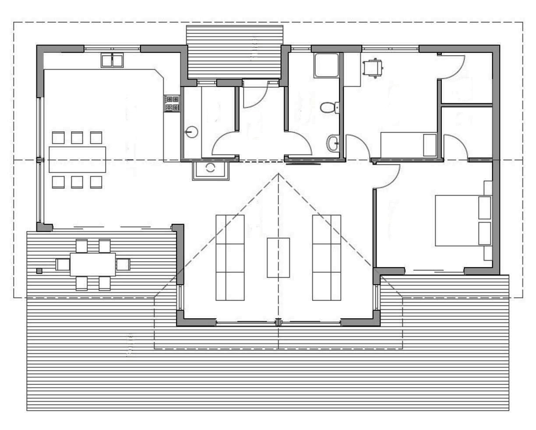 Проект каркасного дома 17