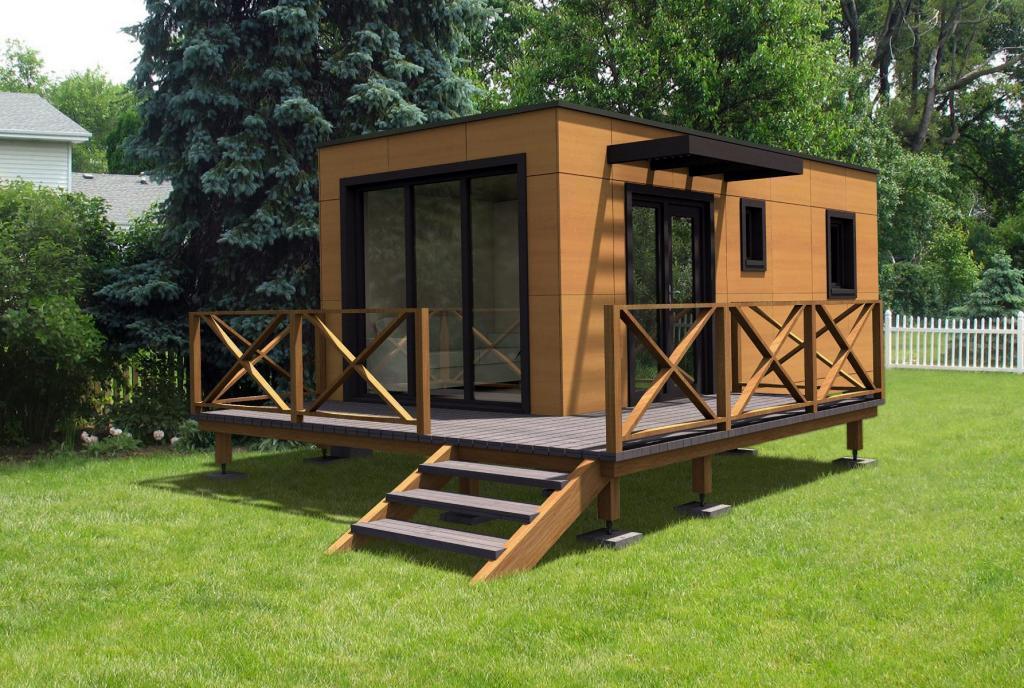 Дачный модульный дом 16 кв. м