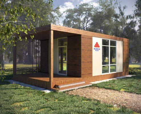 "Проект каркасного дома""СОЛО 24-1П"" - цена строительства под ключ"