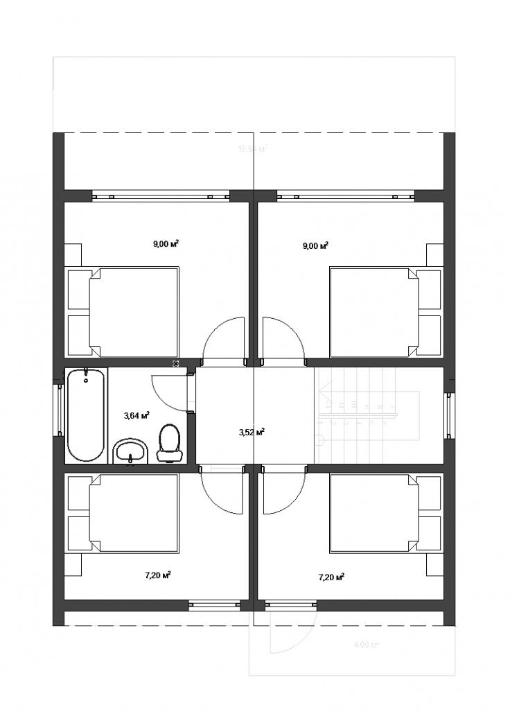 2 этаж план
