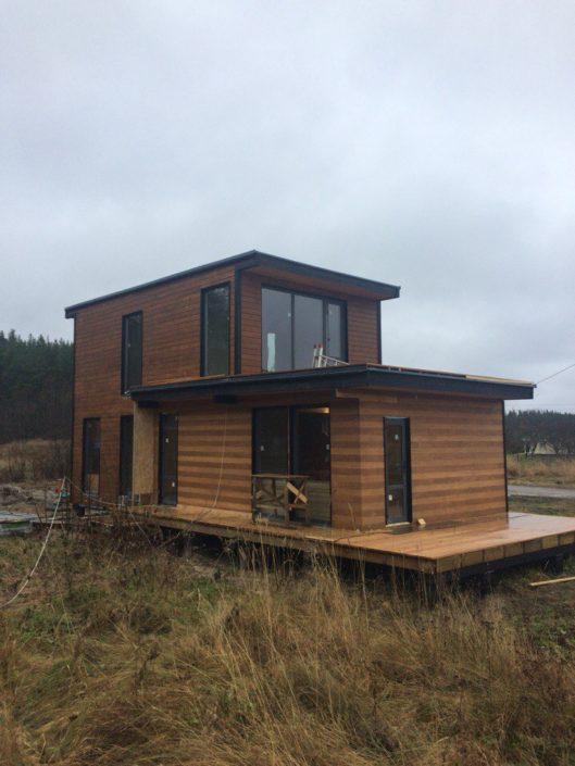 Построить каркасный дом в Карелии