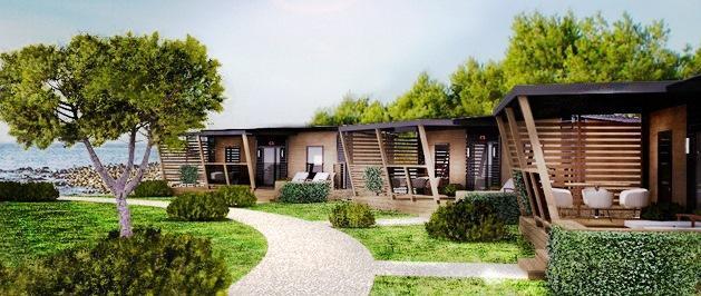 Модульный дом для коммерческого использования