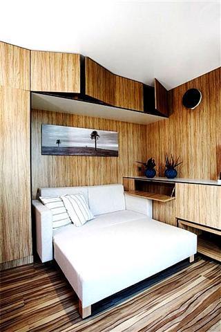 Строительство модульных домов: спальня