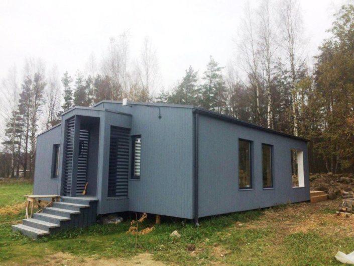 Строительство модульного дома