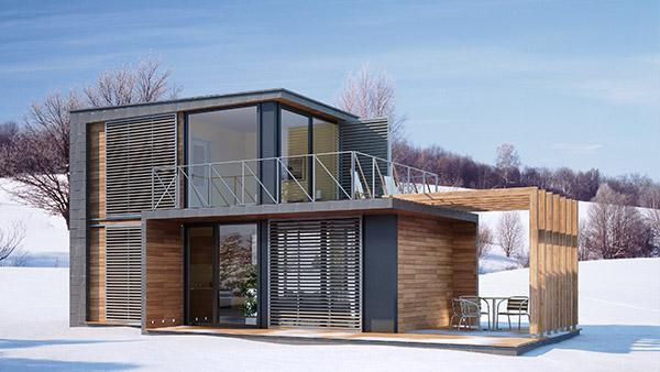 Зимний дом Rubus