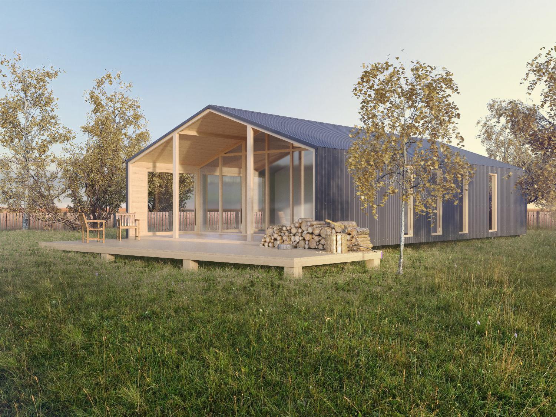 Модульный каркасный дом