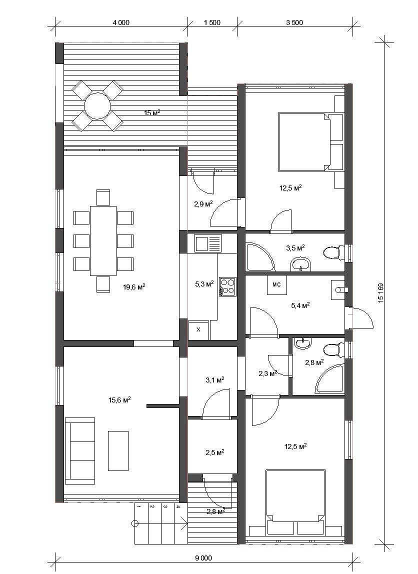 проектирование загородных домов спб