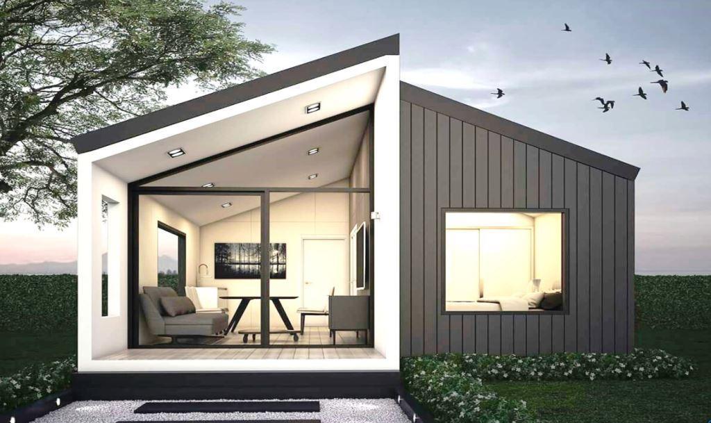 Проект МОДЕРН одноэтажного дачного домика