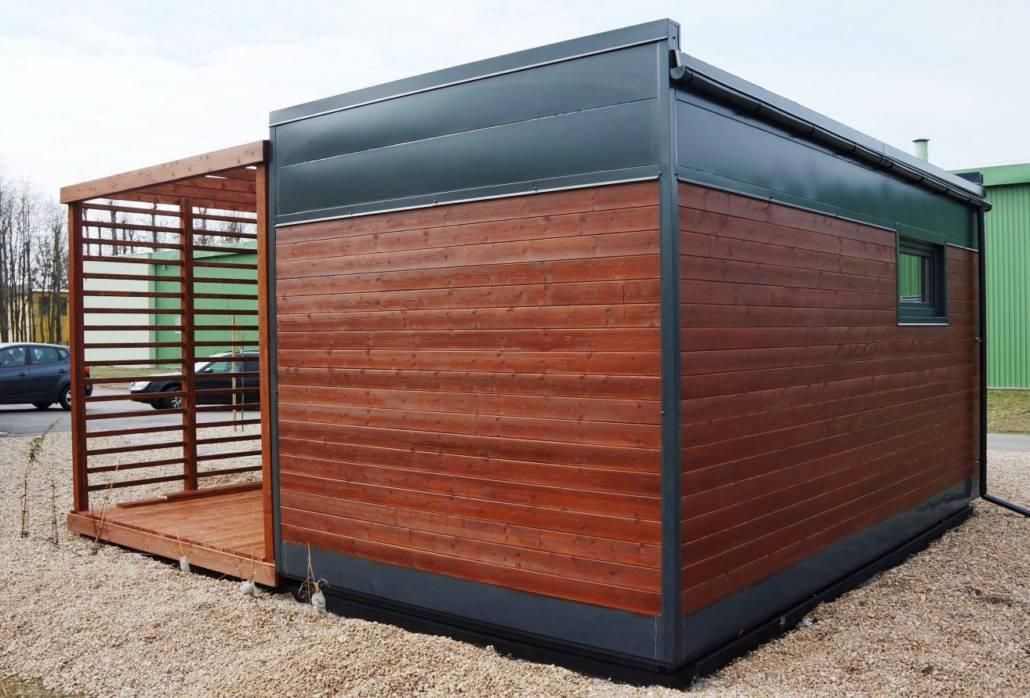 Модульный деревянный дом
