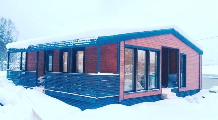 Построить одноэтажный зимний каркасный дом