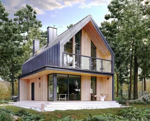 построить дом 80 м.кв.