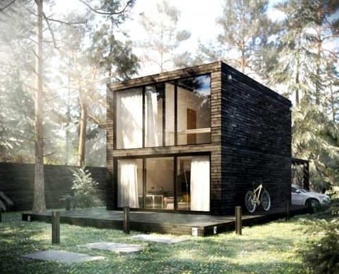 Проект модульного дома в СПб