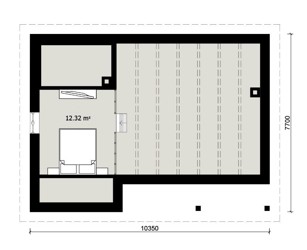 Лофт этаж в бане