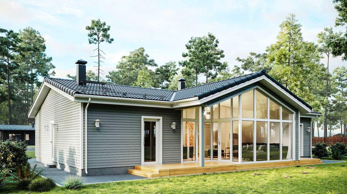 Загородный дом дача