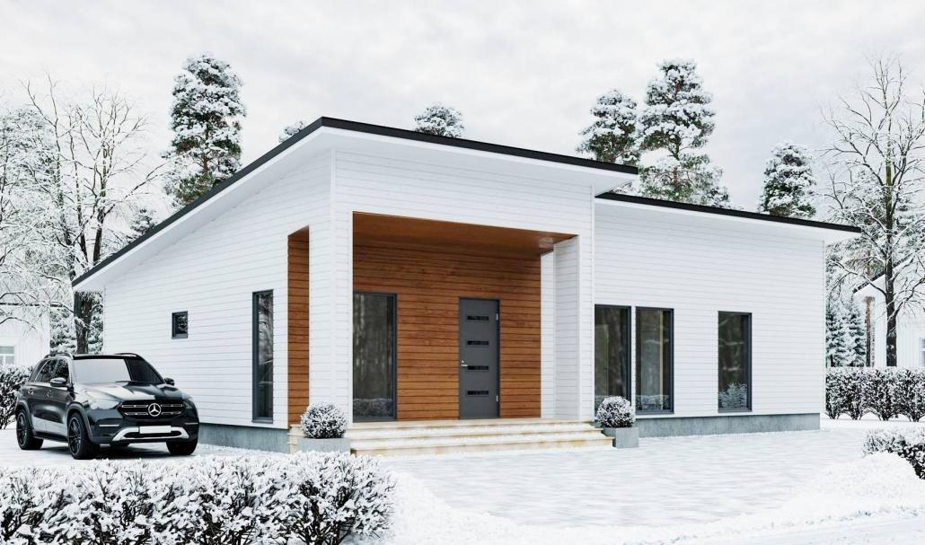 Проект каркасного дома в СПб и Ленобласти