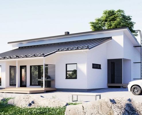 Каркасный дом построить в Ленобласти