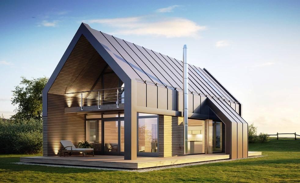 Проект дома в стиле БАРН