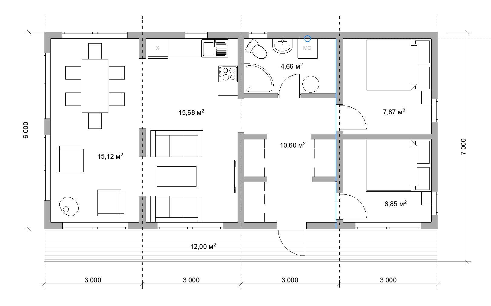 Модульный дом СПб