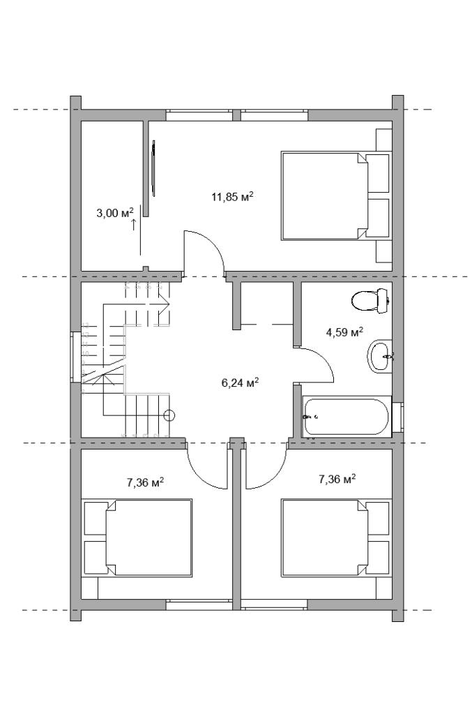БАРН 86-2С 2 этаж