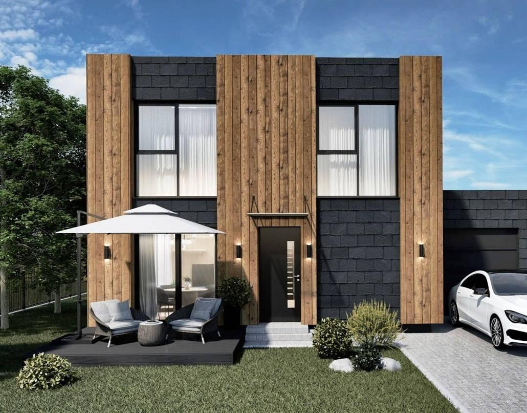 Модульный дом кубик 6х6 СПб