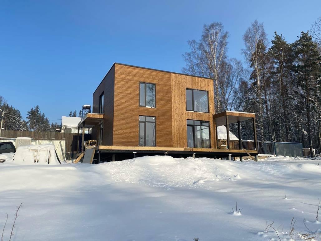 Каркасный дом Ленинградская область
